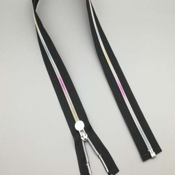 12 Inch metal open ended zippers for luggage