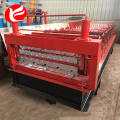 Glazed tile IBR double layer roll forming machine