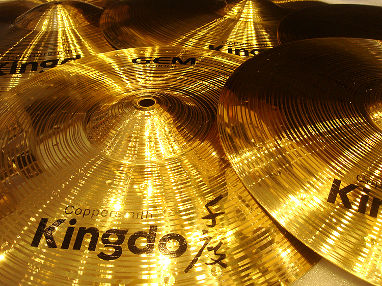 H68 Brass Alloy Cymbals
