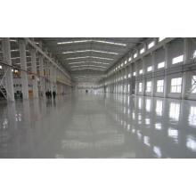 Factory solvent-free anti-corrosion self-flowing flat paint