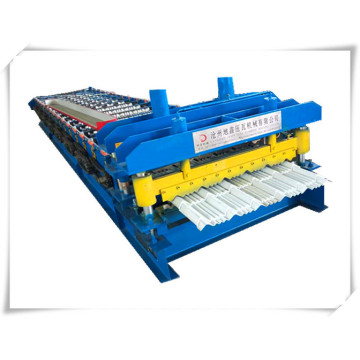 DX Aarc bias glazed tile roll forming machine