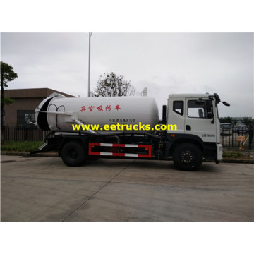 Vacuum 9000L 4x2 Sewage Suction Trucks