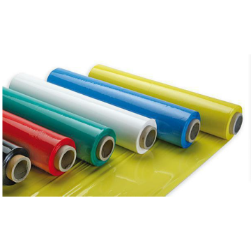 Coloured pe plastic soft stretch wrap film