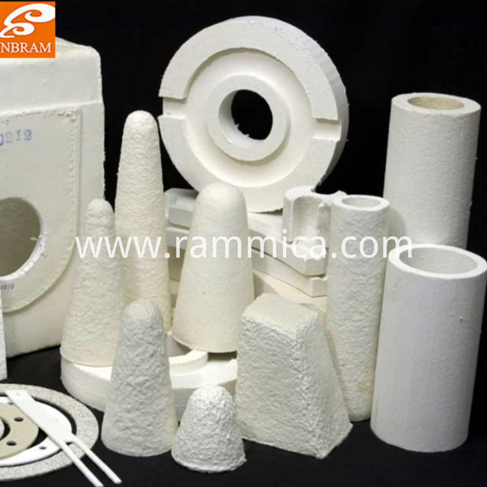 Vacuum Formed Various Ceramic Fiber Shaped Parts