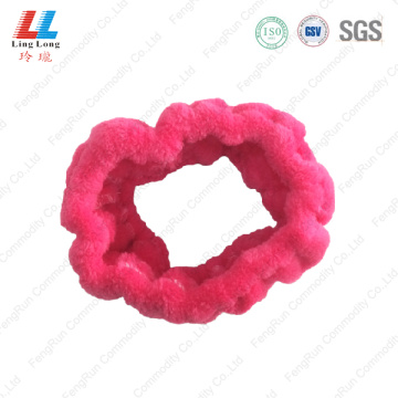 Basic hot pink headband sponge
