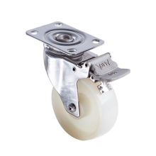 3 inch Stainless steel bracket PT medium duty casters without brakes