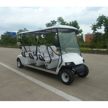 4 stroke fuel sightseeing car/6 seats fuel golf cart