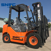 2500kg New Gas Counter Balance Forklift