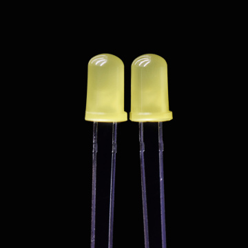 Super Bright 5mm Diffused Yellow LED Strong Diffused