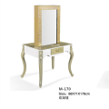 Luxury salon  barber mirrored dressing station table