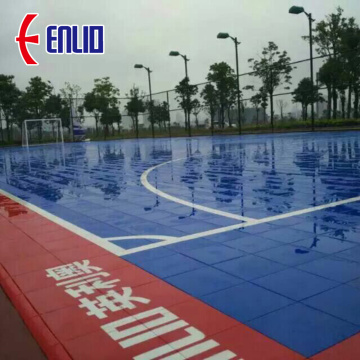 muti-purpose handball and hocky sports court floor
