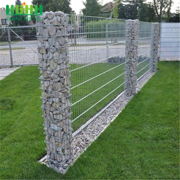 high quality galvanized welded gabion basket retaining wall