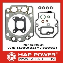 High reputation for Engine Complete Gasket Set Man Head Gasket Set 51009006653 export to Bhutan Supplier