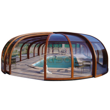 Leading for Swimming Pool Enclosures Pvc Swimming Cover Premier Review Portable Pool Enclosures supply to Honduras Manufacturers