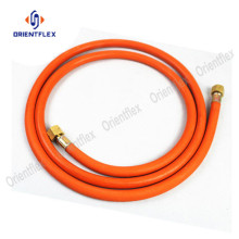 Corrosion resistant flexible hose for gas