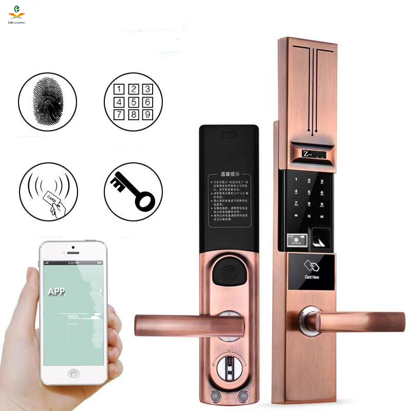 APP Remote control fingerprint door lock