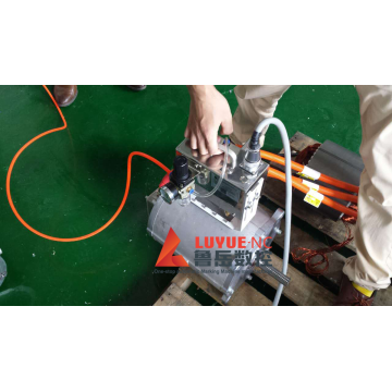 Hand-held charged electric marking machine