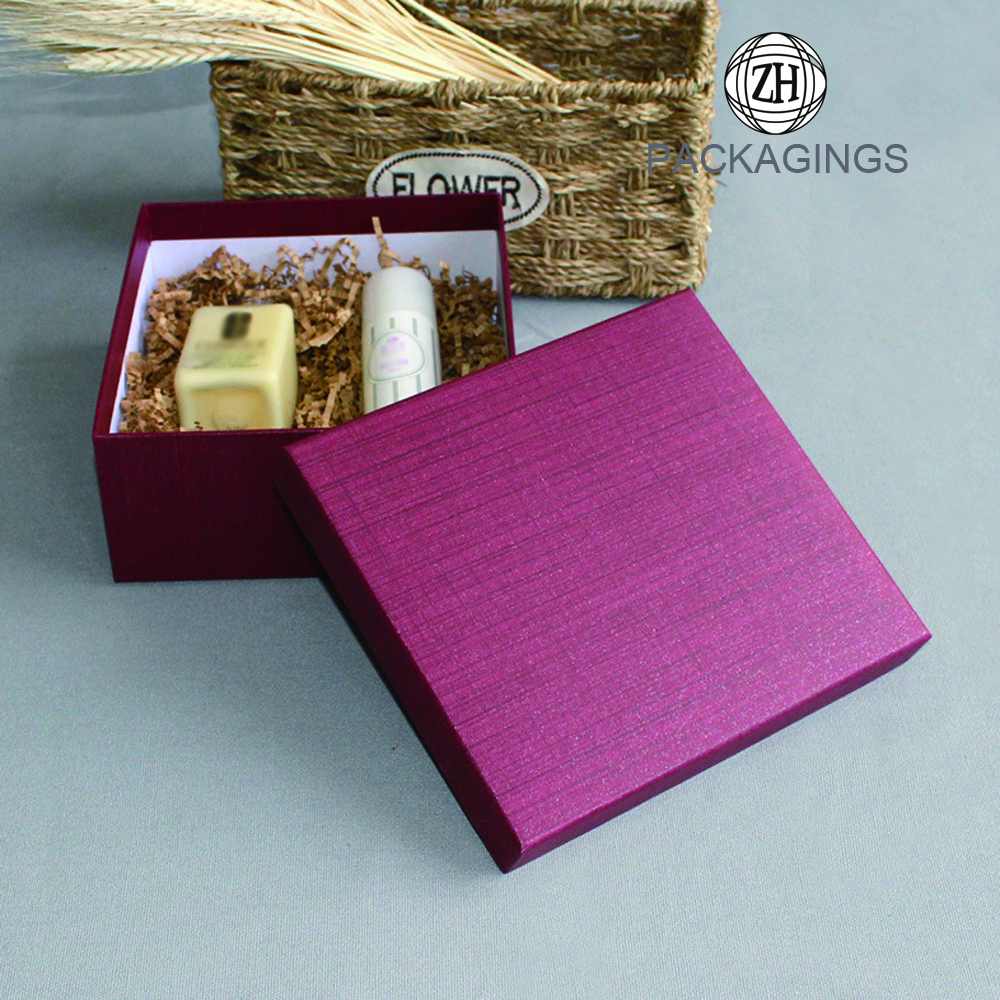 Upscale Custom Made UV Printing Gift Box