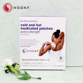 Professional pain relief cool and hot patch