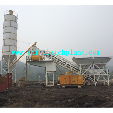 50 Mobile Concrete Batching Machine