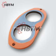 Hydraulic Concrete Pump Wear Plate Cut Ring