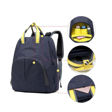 Multi Pockets Oxford Nappy Disposal Bag Backpack