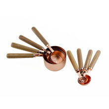 Best Quality for Stainless Steel Measuring Cups Set Rose Gold Plated Stainless Steel Measuring Spoons Set export to Japan Supplier