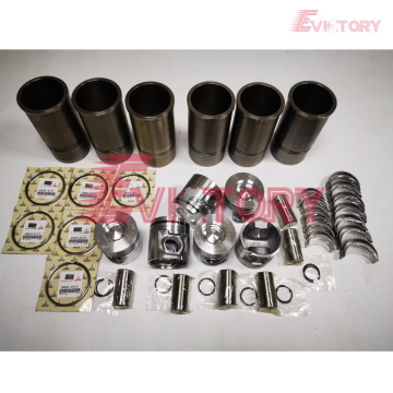 CATERPILLAR spare parts C7 cylinder liner sleeve kit