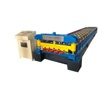 iron trapezoidal roofing metal sheet roll forming machine