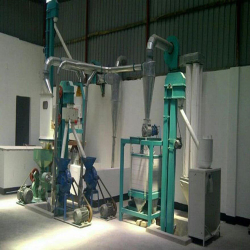 5 Ton per day maize flour mill machine