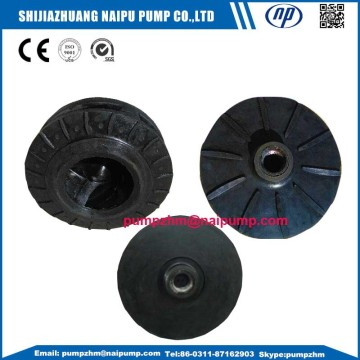 Rubber slurry pump parts slurry pump throat bushing