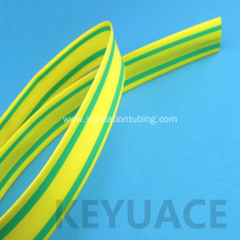 Good Quality for Thin Heat Resistant Shrink Tubing Yellow Green Heat Shrink Sleeve for Earth Wire supply to United States Factory