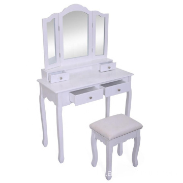 Factory White Modern Dressing Table Designs