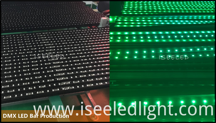 RGB DMX LED bar