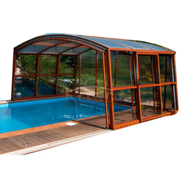 High Quality for Retractable Pool Enclosure Enclosure Ground Dome Indoor Pool Retractable Roof export to Vatican City State (Holy See) Manufacturers