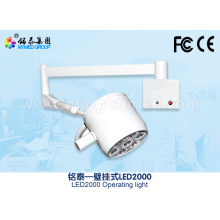 Clinic wall mounted surgical light