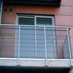 Steel Grating Balcony Fences