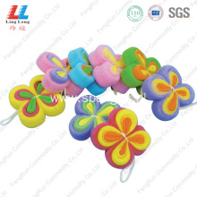 Butterfly luxury sponge exfoliating bath scrubber sponge