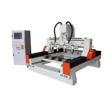 4 axis rotary cnc woodworking router amchine