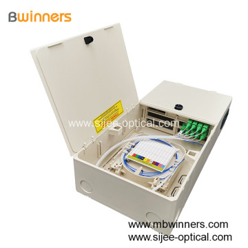 16 Fibers FTTH FTTx Fiber Optic Distribution Box
