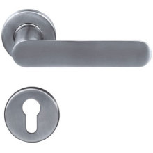 Solid Casting Steel Door Handle