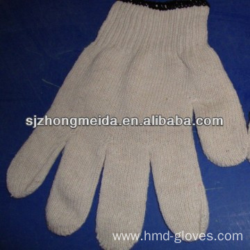cotton knitted gloves /string knitted gloves