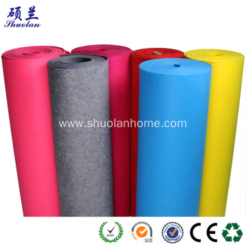 Customized color felt fabric 2mm