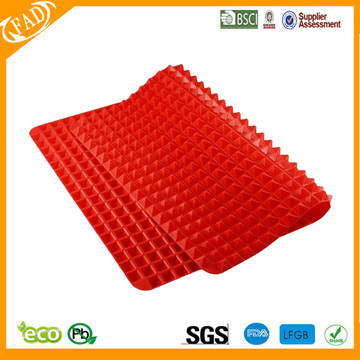 Hot sale for China Pyramid Pan Silicone Baking Mat,Silicone Pastry Mat BPA Free Silicone Non-stick Healthy Cooking Baking Mat supply to Antigua and Barbuda Exporter