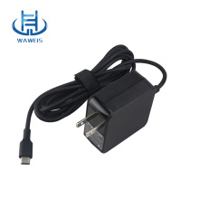 Us plug type-c power adapter