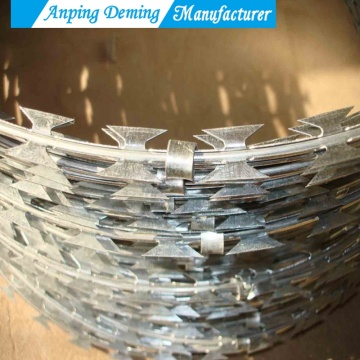 2017 Hot Sales Galvanized Razor Barbed Wire
