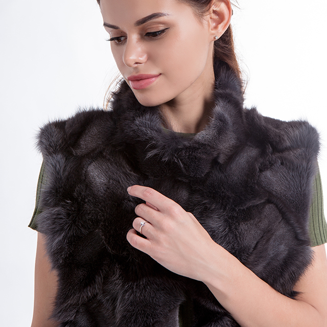 Fashionable Vest Fur