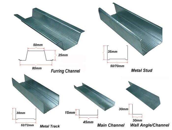 stud and track channel for ceiling