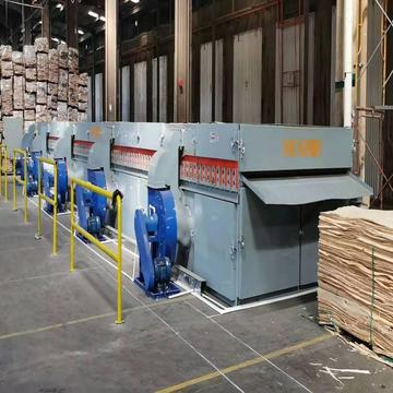Continuous Core Veneer Dryer