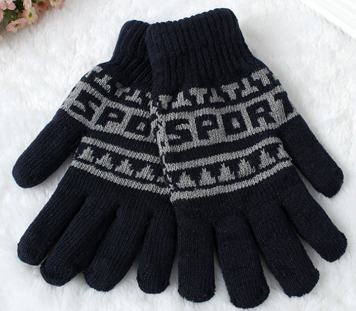Winter Knitting Gloves